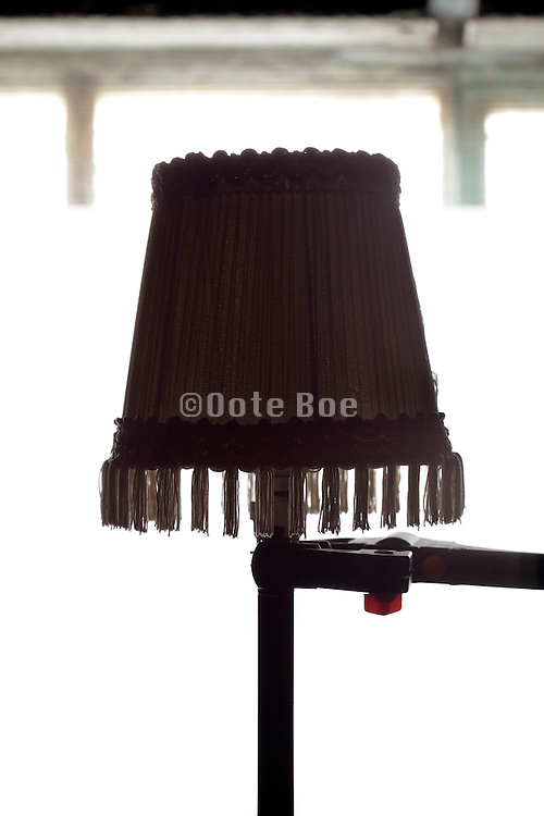 lampshade silhouette