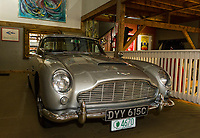 "This 1965 DB Aston Martin, also known as the ""James Bond"" car, will be part of the antique car show for the Boys and Girls Club with Nick Grewal in July.  (Karen Bobotas/for the Laconia Daily Sun)"