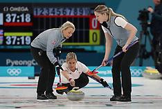 Women - Curling Event - 14 February 2018