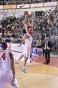 DESCRIZIONE : Roma Lega serie A 2013/14 Acea Virtus Roma Grissin Bon Reggio Emilia<br /> GIOCATORE : Silins Ojars<br /> CATEGORIA : tiro tre punti<br /> SQUADRA : Grissin Bon Reggio Emilia<br /> EVENTO : Campionato Lega Serie A 2013-2014<br /> GARA : Acea Virtus Roma Grissin Bon Reggio Emilia<br /> DATA : 22/12/2013<br /> SPORT : Pallacanestro<br /> AUTORE : Agenzia Ciamillo-Castoria/ManoloGreco<br /> Galleria : Lega Seria A 2013-2014<br /> Fotonotizia : Roma Lega serie A 2013/14 Acea Virtus Roma Grissin Bon Reggio Emilia<br /> Predefinita :