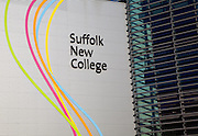 Suffolk New College building, Ipswich, Suffolk, England