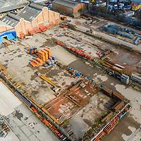 Feb 2021 - Bilston Mabey Hire depot. Drone shots