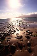 Fishpond ruins, Kihei, Maui, Hawaii<br />