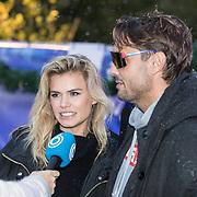 NLD/Amsterdam/20191003 - Lancering Het Amsterdamse Winterparadijs, Nicolette van Dam en Bas Smit