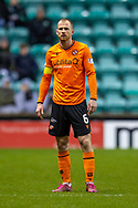 Mark Reynolds (#6) of Dundee United FC during the William Hill Scottish Cup fourth round match between Hibernian FC and Dundee United FC at Easter Road Stadium, Edinburgh, Scotland on 28 January 2020.