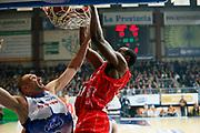 DESCRIZIONE : Cantu Lega A 2013-14 Acqua Vitasnella Cantu EA7 Emporio Armani Milano<br /> GIOCATORE : Gani Lawal Marco Cusin<br /> CATEGORIA : Schiacciata<br /> SQUADRA : Acqua Vitasnella Cantu EA7 Emporio Armani Milano<br /> EVENTO : Campionato Lega A 2013-2014<br /> GARA : Acqua Vitasnella Cantu EA7 Emporio Armani Milano<br /> DATA : 23/12/2013<br /> SPORT : Pallacanestro <br /> AUTORE : Agenzia Ciamillo-Castoria/G.Cottini<br /> Galleria : Lega Basket A 2013-2014  <br /> Fotonotizia : Cantu Lega A 2013-14 Acqua Vitasnella Cantu EA7 Emporio Armani Milano<br /> Predefinita :