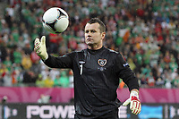 Football - European Championships 2012 - Spain vs. Ireland<br /> Shay Given of Ireland at the Baltic Arena, Gdansk