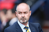 Football - 2018 / 2019 UEFA European Championship Qualifier - Group I: Scotland vs. Cyprus<br /> <br /> Scotland manager Steve Clarke during the European Championship Qualifying match between Scotland and Cyprus, at Hampden Park, Glasgow.<br /> <br /> COLORSPORT/BRUCE WHITE