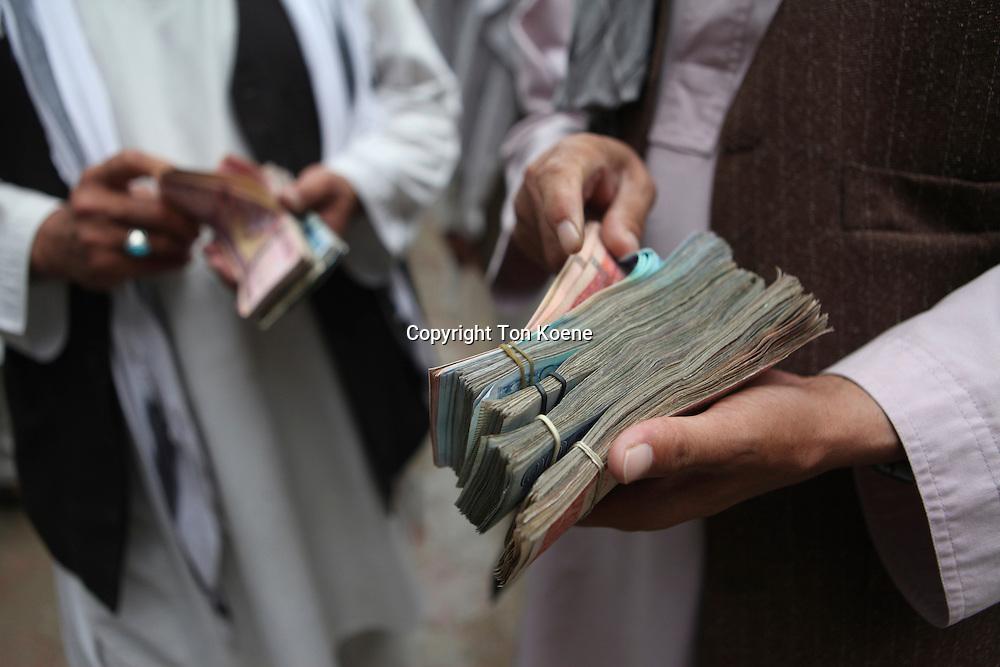 Hawala office (money transfer) in Kabul