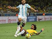 Brazil vs Argentina in Brazil