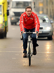 File photo dated 07/03/13 of Olympic gold medallist Chris Boardman who has been appointed Greater Manchester's first ever Cycling and Walking Commissioner.