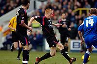 Photo: Daniel Hambury.<br />Millwall FC v Crystal Palace. Coca Cola Championship. 18/02/2006.<br />Palace's Ben Watson scores to make it 0-1.