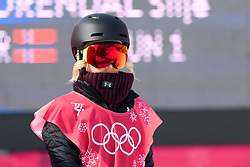 February 19, 2018 - Pyeongchang, SOUTH KOREA - 180219 Silje Norendal of Norway competes in the Women's Big Air Qualification during day ten of the 2018 Winter Olympics on February 19, 2018 in Pyeongchang..Photo: Carl Sandin / BILDBYRN / kod CS / 57999_306 (Credit Image: © Carl Sandin/Bildbyran via ZUMA Press)