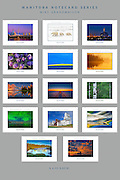 PRODUCT: Notecards<br /> TITLE: Manitoba Notecard Series<br /> CLIENT: Mike Grandmaison