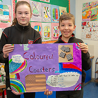 Ennis National School students Mischa Fitzsimmons and Luke Malice
