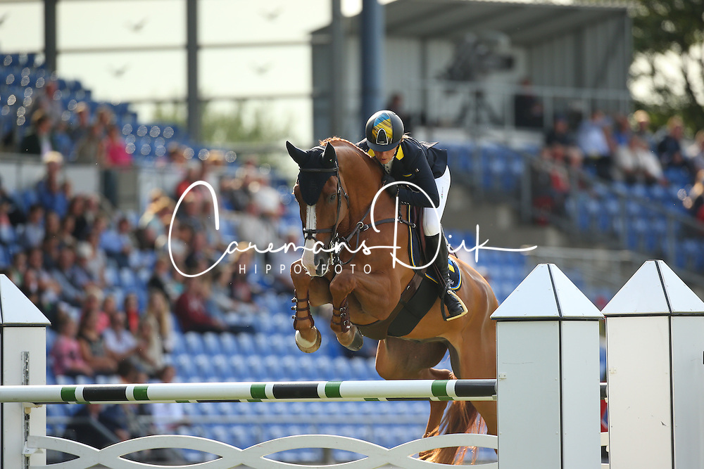 Offel Katharina, (UKR), Zipper<br /> Team Competition round 1 and Individual Competition round 1<br /> FEI European Championships - Aachen 2015<br /> © Hippo Foto - Stefan Lafrentz<br /> 19/08/15