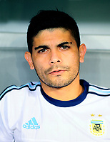 Conmebol - World Cup Fifa Russia 2018 Qualifier / <br /> Argentina National Team - Preview Set - <br /> Ever Maximiliano David Banega