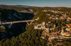THEMENBILD - das Kastell von Trsat, aufgenommen am 15. August 2019 in Rijeka, Kroatien // Trsat Castle in Rijeka, Croatia on 2019/08/15. EXPA Pictures © 2019, PhotoCredit: EXPA/ JFK