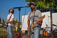 Los Angeles, California | 2005<br /> Aditya Rao sings lead for The Throws, a Los Angeles-based rock band, at Artwallah, an annual festival of South Asian visual arts, music, dance, film, and literature.
