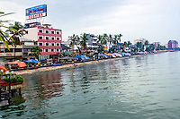 South Sulawesi, Makassar. Pantai Losari. Here you can buy good sate and other food.