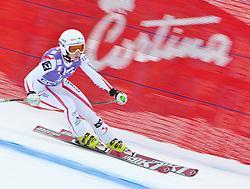 19.01.2011, Tofana, Cortina d Ampezzo, ITA, FIS World Cup Ski Alpin, Lady, Cortina, Abfahrt 1. Training, im BildRegina Mader (AUT, #28) // Regina Mader (AUT) during FIS Ski Worldcup ladies downhill first training at pista Tofana in Cortina d Ampezzo, Italy on 19/1/2011. EXPA Pictures © 2011, PhotoCredit: EXPA/ J. Groder