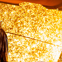 Blast Furnace operation and servicing at Port Talbot Steel Works -