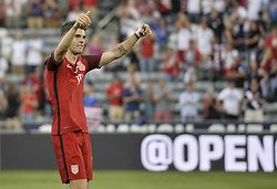 June 8, 2017 - Commerce City, Colorado, United States - Commerce City, CO - Thursday June 08, 2017: Christian Pulisic celebrates his goals. during their 2018 FIFA World Cup Qualifying Final Round match versus Trinidad & Tobago at Dick's Sporting Goods Park. (Credit Image: © John Todd/ISIPhotos via ZUMA Wire)
