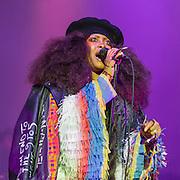 Erykah Badu performs at the 2016 Summer Spirit Festival at Merriweather Post Pavilion.