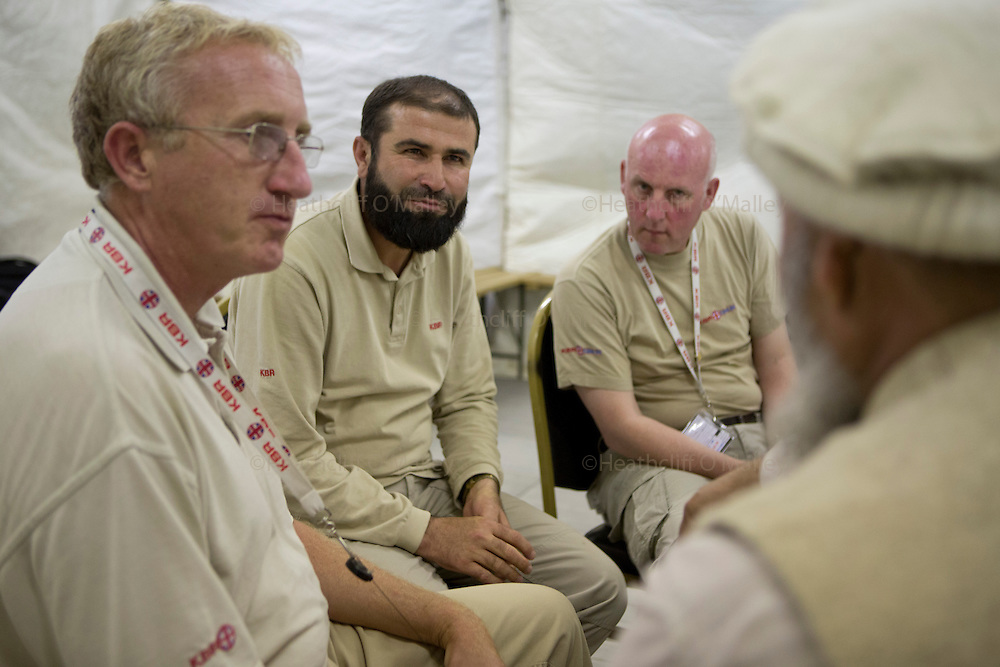 Images of the KBR team working at Camp Bastion for Afghanistan Legacy Supplement .