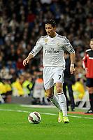 Real Madrid´s Cristiano Ronaldo during 2014-15 La Liga match between Real Madrid and Villarreal CF at Santiago Bernabeu stadium in Madrid, Spain. March 01, 2015. (ALTERPHOTOS/Luis Fernandez)
