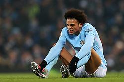 Leroy Sane of Manchester City reacts - Mandatory by-line: Matt McNulty/JMP - 16/12/2017 - FOOTBALL - Etihad Stadium - Manchester, England - Manchester City v Tottenham Hotspur - Premier League