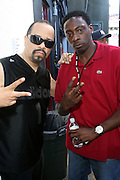 l to r: Ice T and Pete Rock at The 2009 Rock the Bells Concert presented by Guerilla Union in association with Budweiser and held at Jones Beach July 19, 2009 in Babylon, NY..Few events can claim to both capture and define a movement, yet this is precisely what Rock The Bells has done since its inception in 2003. Rock The Bells is more than a music festival. It has become a genuine rite of passage for thousands of core, social, conscious, and independent Hip Hop enthusiasts, and Hip Hop Heads Globally. ..Rock The Bells is the ultimate Hip Hop platform and premiere music experience in America. Rock The Bells has established a forum of unparalleled diversity and excellence by uniting the biggest names involved with urban culture.