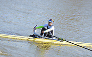 Boston, Great Britain. Women's Single Scull GBR W1X . Jess EDDIE,  compete's in the 2013 GBRowing second assessment, Boston Rowing Club, River Witham, Lincolnshire.    Saturday  09/02/2013   [Mandatory Credit. Peter Spurrier/Intersport Images]