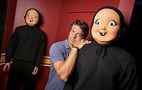 Jason Blum insides The Horrors of Blumhouse , part of Halloween Horror Nights at Universal Studios Hollywood.  Photo by David Sprague