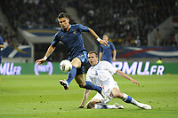 FOOTBALL - INTERNATIONAL FRIENDLY GAMES 2011/2012 - FRANCE v ESTONIA  - 5/06/2012 - PHOTO JEAN MARIE HERVIO / REGAMEDIA / DPPI - OLIVIER GIROUD (FRA) / TAAVI RAHN (EST)