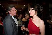 COSMO LANDESMAN; CATHERINE BLYTHE; , Catherine Blythe. ' The Art Of Conversation.' Book launch. Ralph Lauren. New Bond St. London. 4 November 2008.  *** Local Caption *** -DO NOT ARCHIVE-© Copyright Photograph by Dafydd Jones. 248 Clapham Rd. London SW9 0PZ. Tel 0207 820 0771. www.dafjones.com.