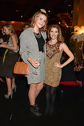 Left to right, GEORGIA LEWIS ANDERSON and PIPS TAYLOR at the Vogue Pop Up Club at Westfield London to celebrate Westfield London's 5th birthday on 30th October 2013.