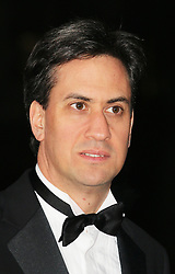© Licensed to London News Pictures. 11/12/2013, UK. <br /> <br /> Ed Miliband, attends A Night Of Heroes: The Sun Military Awards, National Maritime Museum, London UK, 11 December 2013. Photo credit : Richard Goldschmidt/Piqtured/LNP