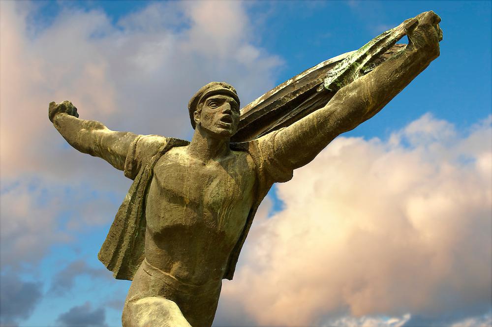 Republic of Councils Monument - Memento Sculpture Park ( Szobaopark ) Budapest, Hungary