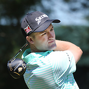 Russell Knox, Scotland, in action during the third round of the Travelers Championship at the TPC River Highlands, Cromwell, Connecticut, USA. 21st June 2014. Photo Tim Clayton