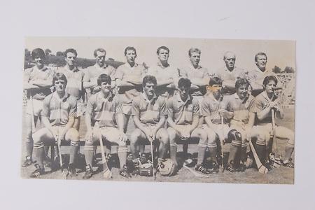 The Tipperary team which defeated Waterford in the 1989 Munster Final, back row, Joe Hayes, John Heffernan, Noel Sheehy, Conor O'Donovan, Ken Hogan, Declan Ryan, Cormack Bonnar, Bobby Ryan, front row, Nicholas English, Ml Cleary, Colm Bonnar, Pat Fox, John Leahy, Paul Delaney,