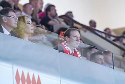 June 3, 2018 - Monaco, France - Sergei Dyadechko (president de Monaco Basket) et sa femme (Credit Image: © Panoramic via ZUMA Press)