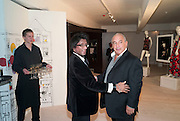 ILLY JAFFAR; SIR PHILIP GREEN, BROWN'S 40TH ANNIVERSARY DINner. Regent Loft and Penthouses. Marshall St. London. 13 May 2010. -DO NOT ARCHIVE-© Copyright Photograph by Dafydd Jones. 248 Clapham Rd. London SW9 0PZ. Tel 0207 820 0771. www.dafjones.com.