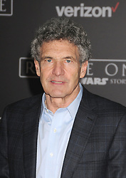 December 10, 2016 - Los Angeles, California, United States - December 10th 2016 - Los Angeles California USA - Executive ALAN HORN at the World Premiere for ''Rogue One Star Wars'' held at the Pantages Theater, Hollywood, Los Angeles  CA (Credit Image: © Paul Fenton via ZUMA Wire)