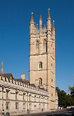 Magdalen College Tower & Gargoyles, Oxford