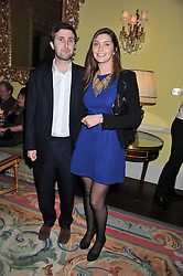 CASPAR HELMORE and PRINCESS AUGUSTA VON PREUSSEN at Tatler's Jubilee Party in association with Thomas Pink held at The Ritz, Piccadilly, London on 2nd May 2012.