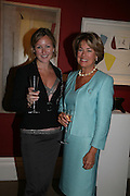 REBEKAH CAUDWELL AND MRS. BILL CASH, Spear's Wealth Management High-Net-Worth Awards. Sotheby's. 10 July 2007.  -DO NOT ARCHIVE-© Copyright Photograph by Dafydd Jones. 248 Clapham Rd. London SW9 0PZ. Tel 0207 820 0771. www.dafjones.com.