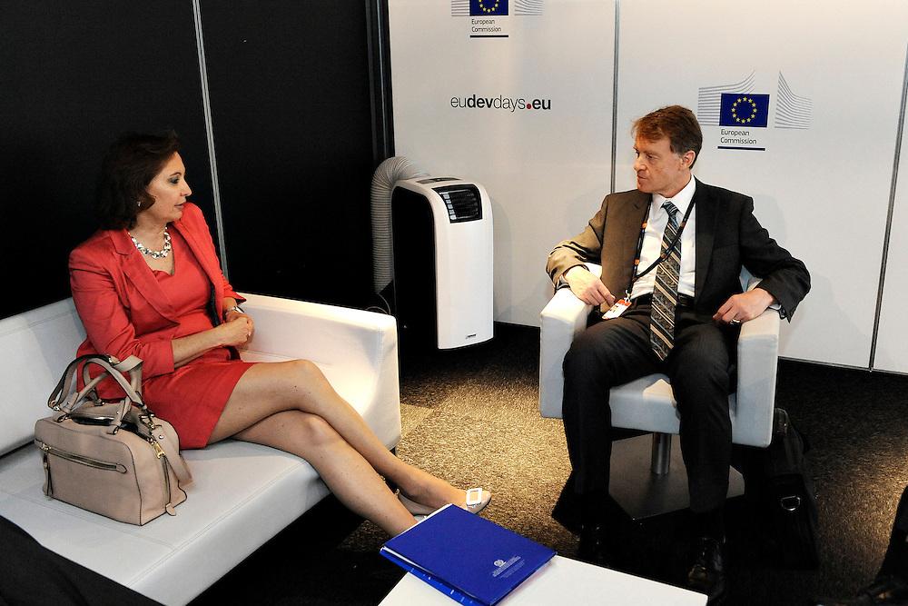 20150604- Brussels - Belgium - 04 June2015 - European Development Days - EDD  - Agnes Kalibata  AGRA and Jean Pierre Halkin Devco © EU/UE