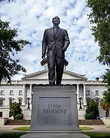 statue of Strom Thurmond, Dixiecrat presidential candidate, South Carolina Senator, Columbia, South Carolina