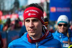 KRANJEC Zan of Slovenia during the Audi FIS Alpine Ski World Cup Men's Slalom 58th Vitranc Cup 2019 on March 10, 2019 in Podkoren, Kranjska Gora, Slovenia. Photo by Peter Podobnik / Sportida